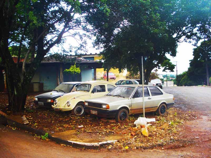 dsc00143 VW Voyage, VW Fusca e Ford Escort