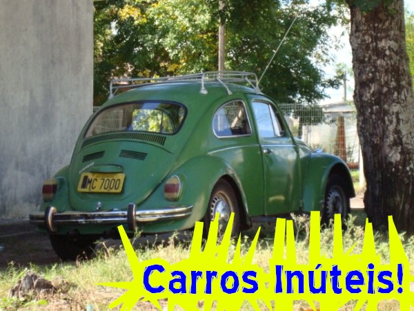 rafinha-fusca-verde-placa-amar VW Fusca