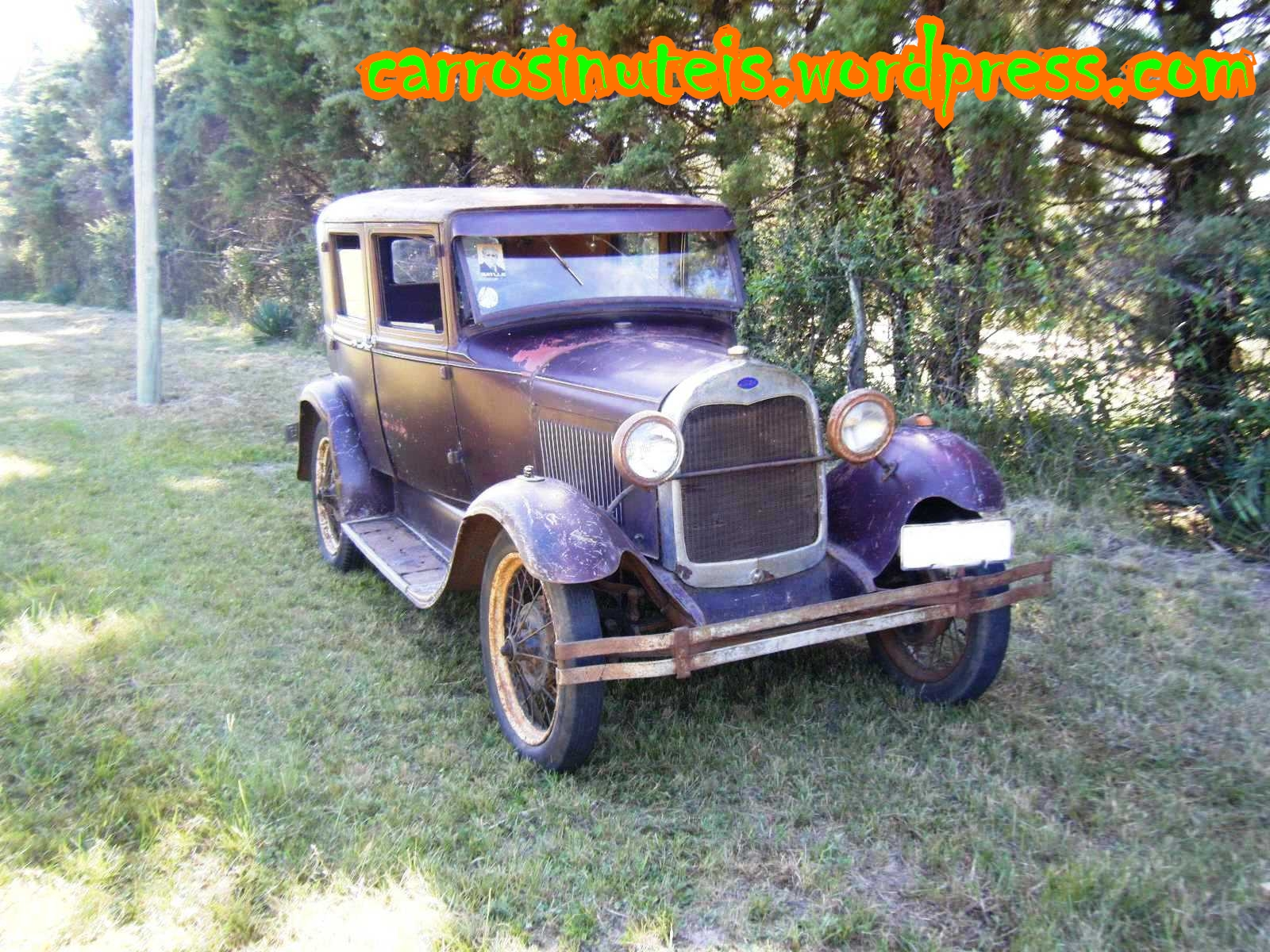 pablo-ford-a-1929-sedan-9 ??? Ford A 1929 Sedan, no Uruguai (fotos: Pablo)
