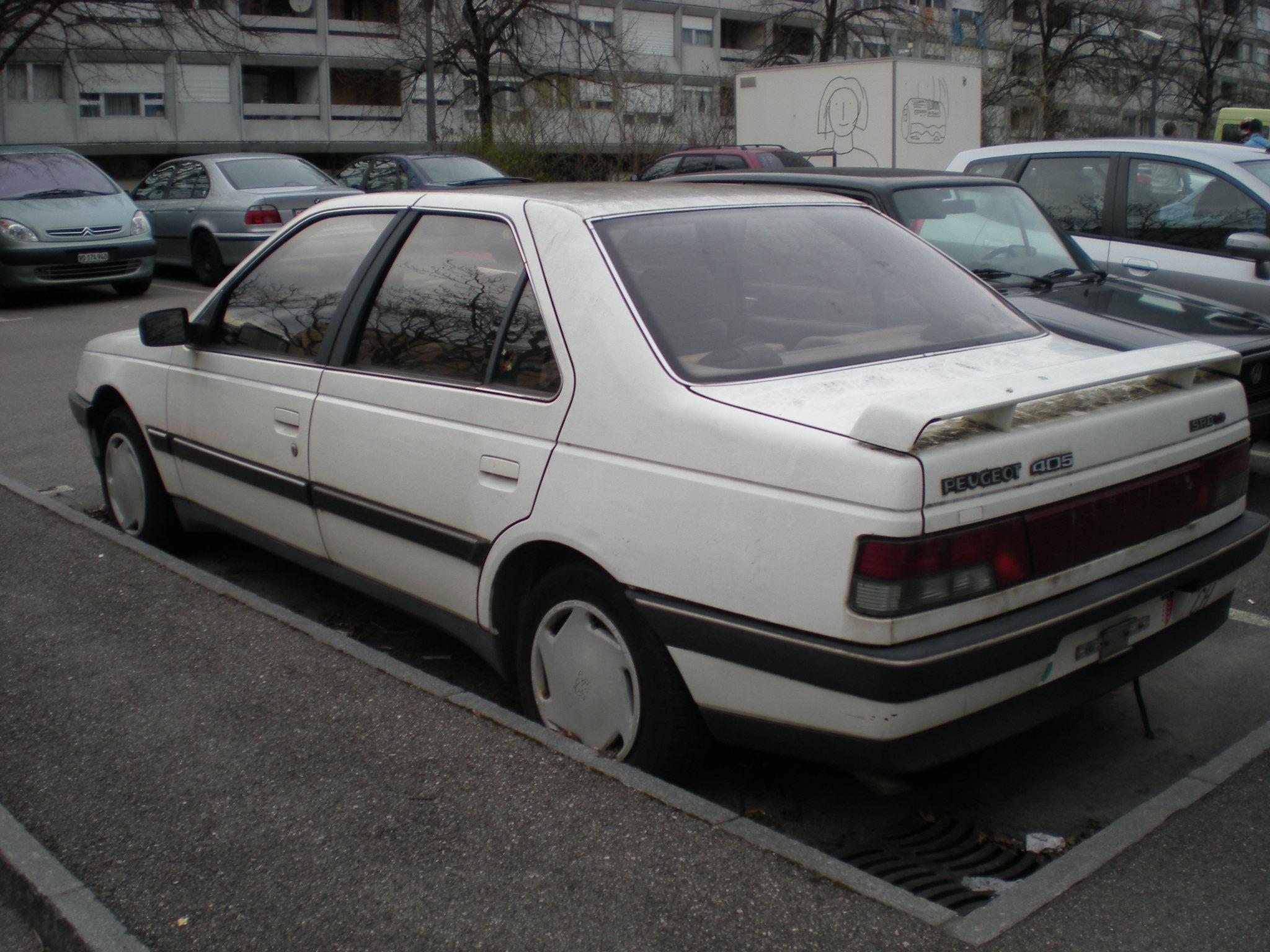 osvaldo-peugeot-405-genebra Peugeot 405