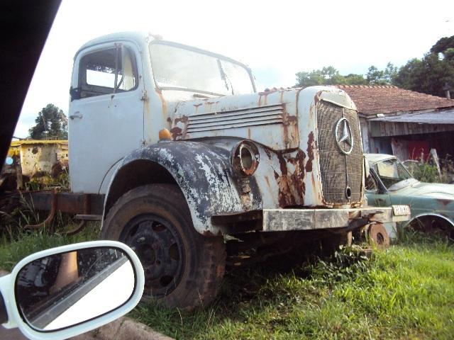 ujaisson-luis-lages-mb-1957 Caminhão MB 1957