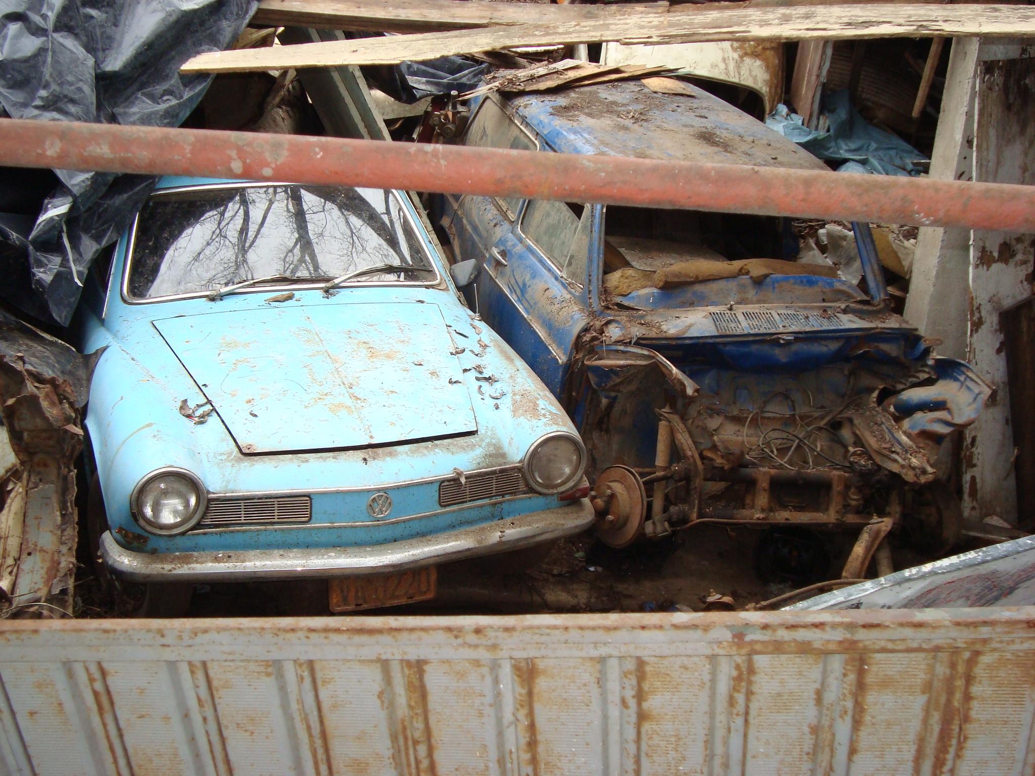 rafinha-kg VW Karmann Ghia e VW Variant - um resgate!