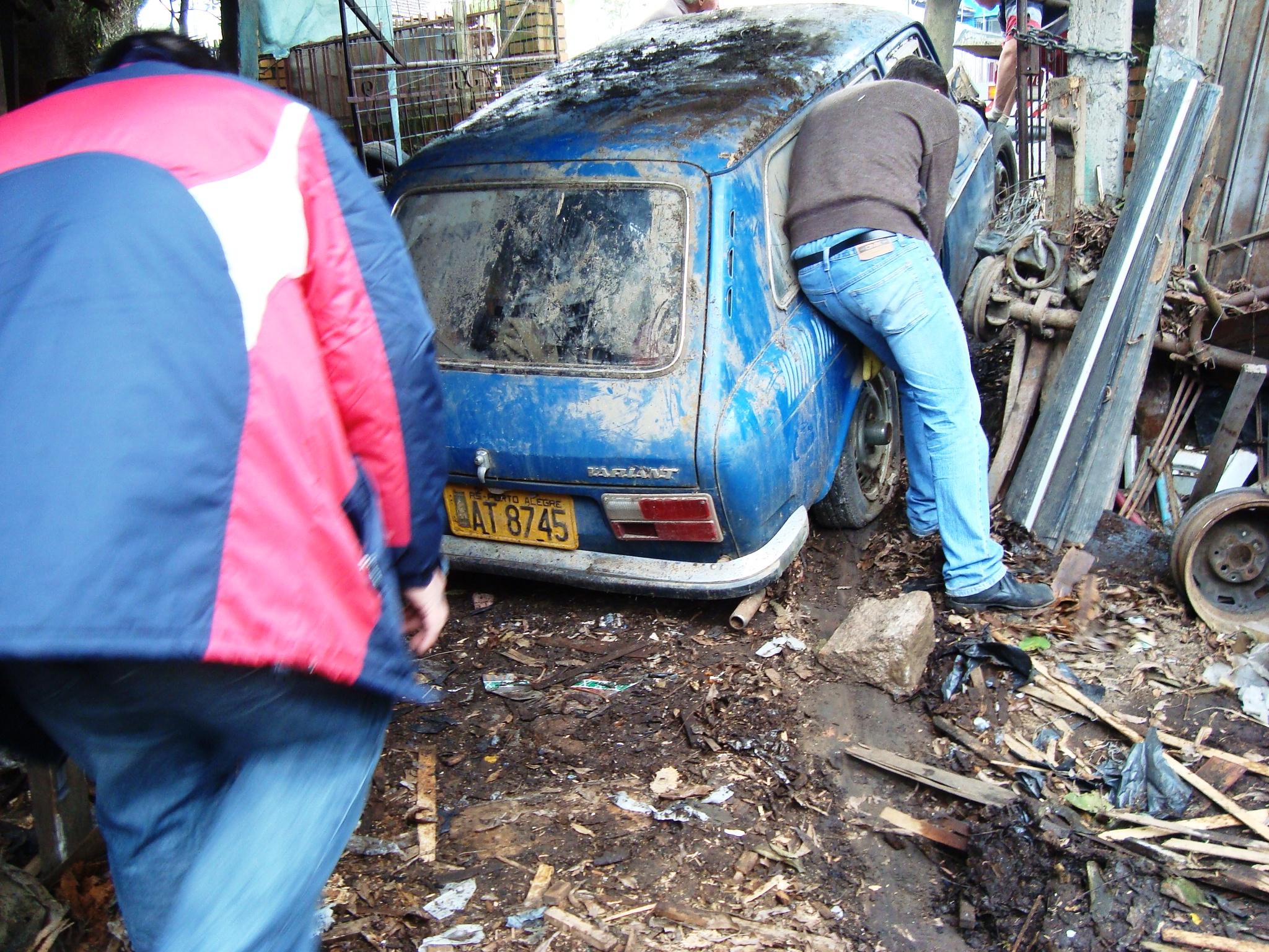 rafinha-variant VW Karmann Ghia e VW Variant - um resgate!