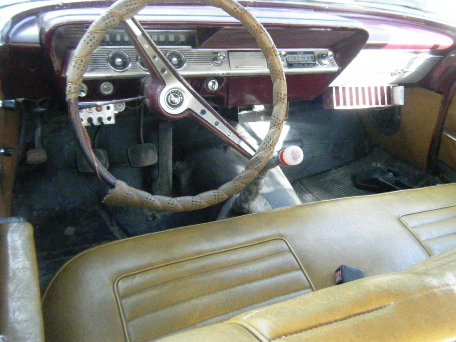 upablo-chevrolet-impala-1962-interior Chevrolet Impala