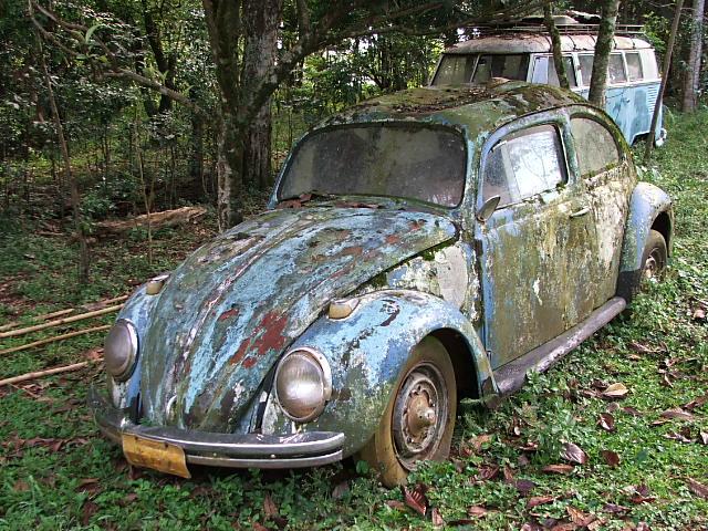 uremi erechim rs fusca azul 1 Volkswagen Fusca